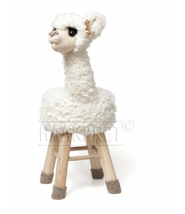 Haakpret Package Alpaca - White