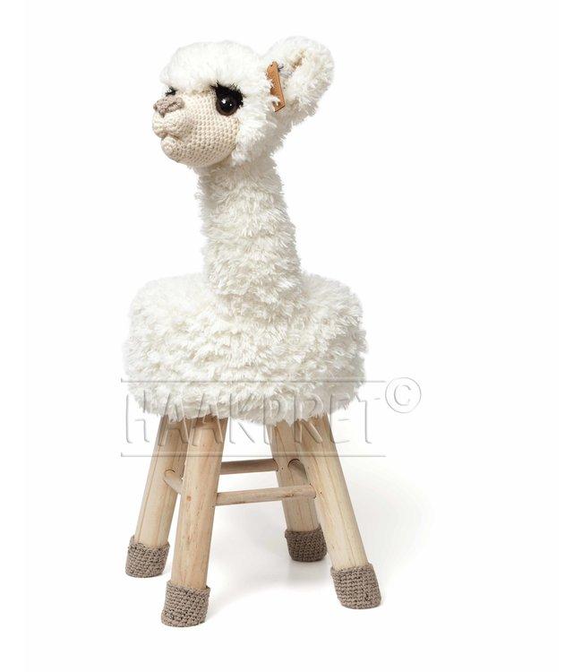 Haakpret Paquet Alpaca - Blanc