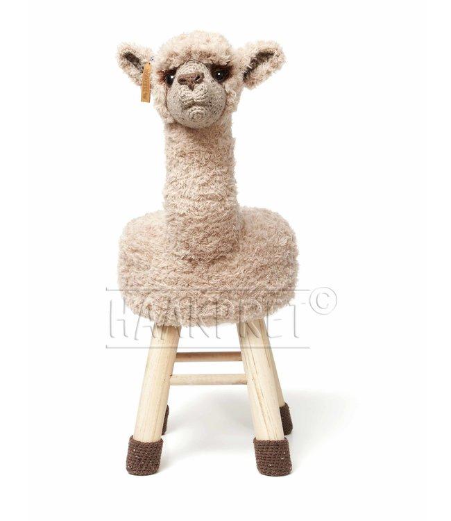 Haakpret Paquet Alpaca - Marron