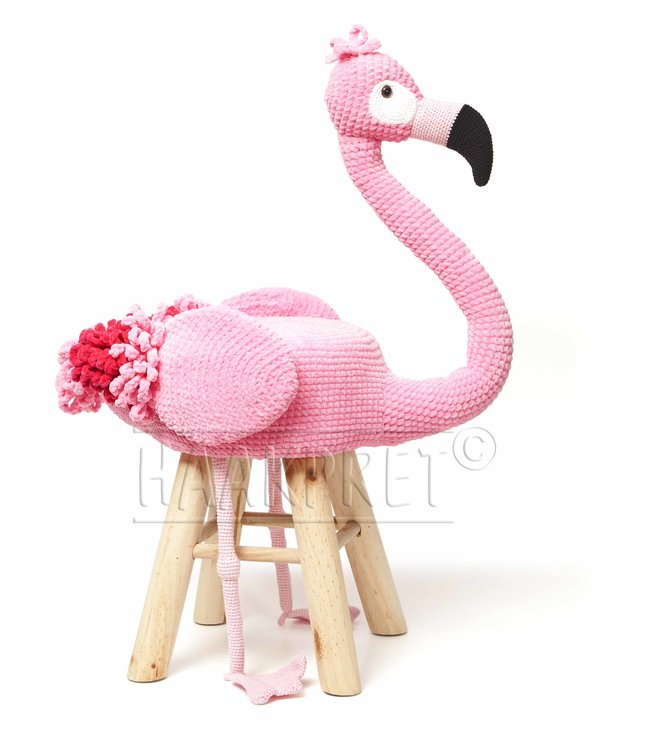 Haakpret Paquet flamant rose