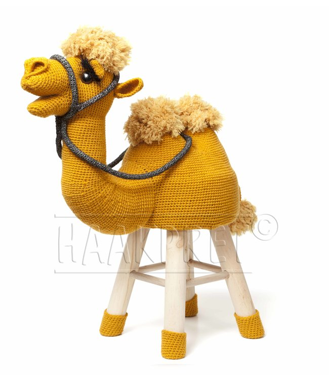 Haakpret Package Camel Ocher yellow