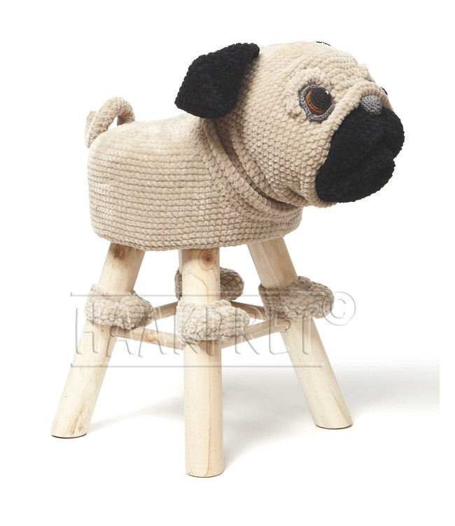 Haakpret Package Pug - Chenille