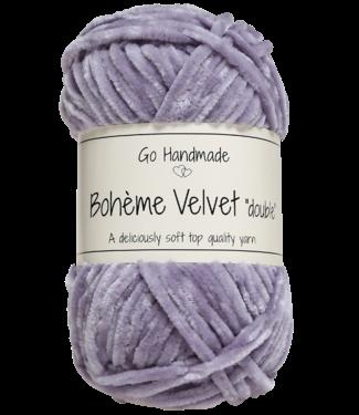Go Handmade Bohème Velvet Double - Lavender