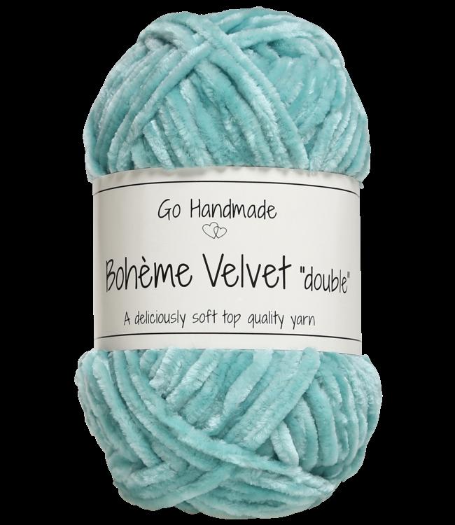 Go Handmade Bohème Velvet Double - Mint