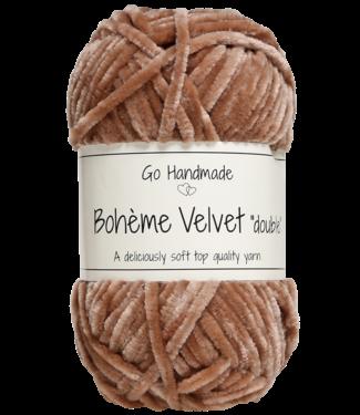 Go Handmade Bohème Velvet Double - Nougat