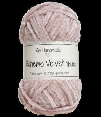 Go Handmade Bohème Velvet Double - Dusty Rose