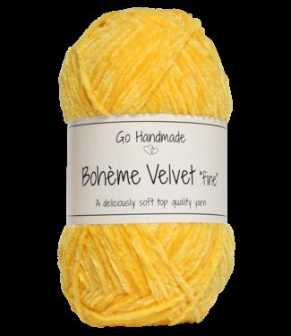 Go Handmade Bohème Velvet Fine - Giraffe Yellow