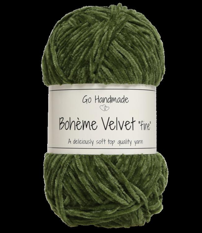 Go Handmade Bohème Velvet Fine - Lime