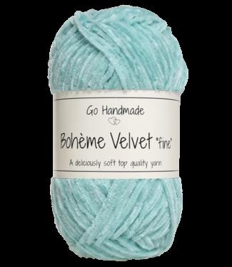 Go Handmade Bohème Velvet Fine - Mint