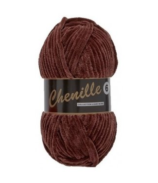 Lammy Yarns Chenille 6 - 110 - bruin