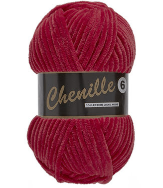 Lammy Yarns Chenille 6 - 044 - dieprood