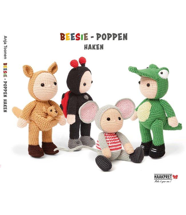 Haakpret Beesie-poppen haken - Anja Toonen (Néerlandais)