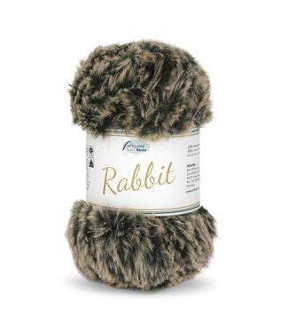 Rellana Rabbit 100g -  06 - beige-schwarz Melé