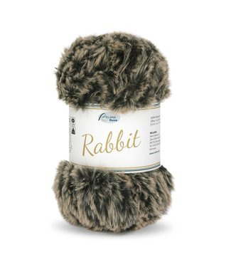 Rellana Rabbit 100g -  06 - melé noir beige