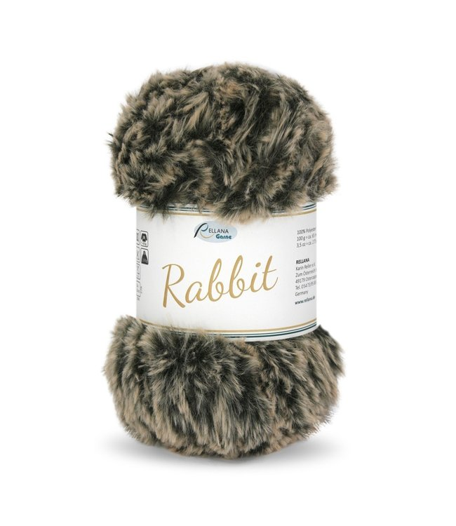 Rellana Rabbit 100g -  06 - beige-black melé