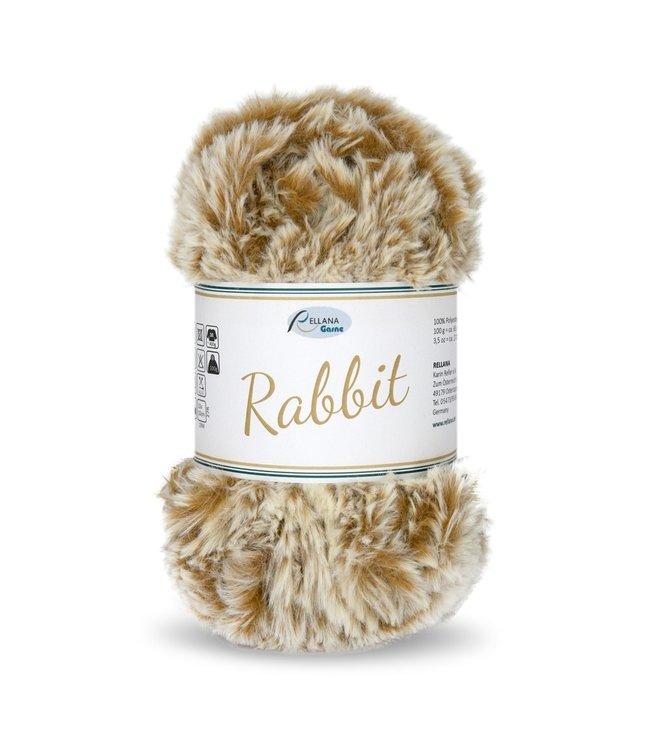 Rellana Rabbit 100g -  18 - beige ocre jaune