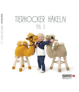 Haakpret Tierhocker häkeln teil 3 - Deutsch