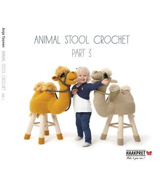 Haakpret Animal Stool crochet part 3 - Englisch