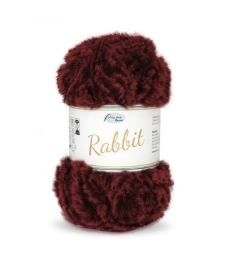 Rellana Rabbit 100g -  08 - Burgundy