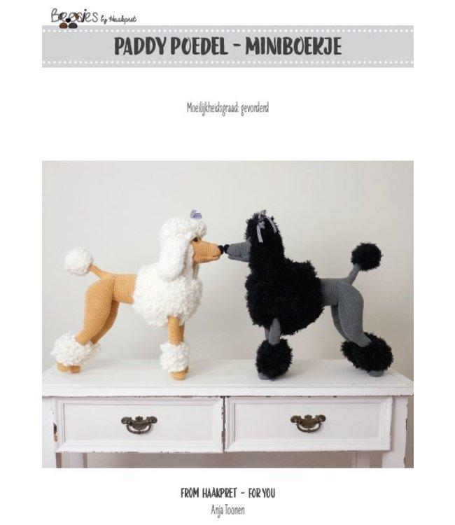 Haakpret Paddy Poedel werkbeschrijving A5 - Dutch