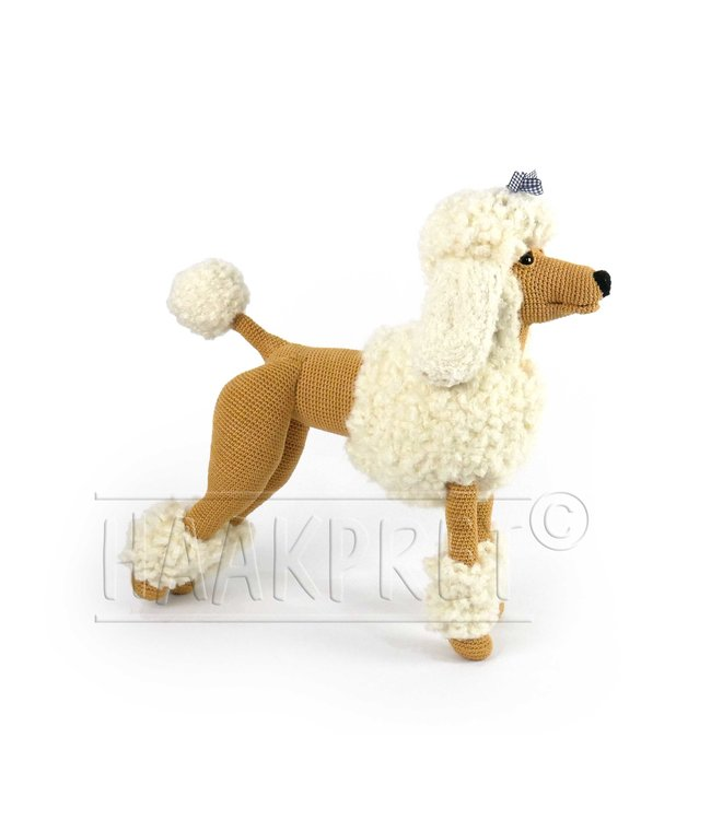 Haakpret Compose yourself: Paddy Poodle brown