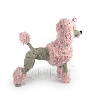 Haakpret Stellen Sie sich zusammen: Big Pink Paddy Pudel