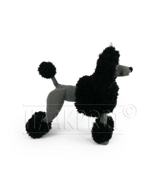 Haakpret Compose yourself: Paddy Poodle brown black