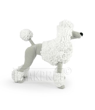 Haakpret Compose yourself: White Paddy Poodle