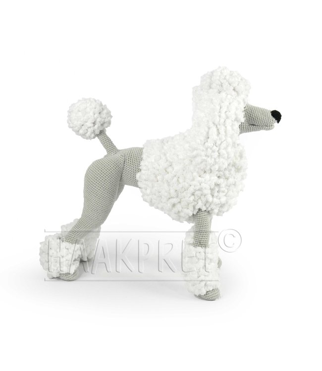 Haakpret Composez-vous: Blanc Paddy Poodle