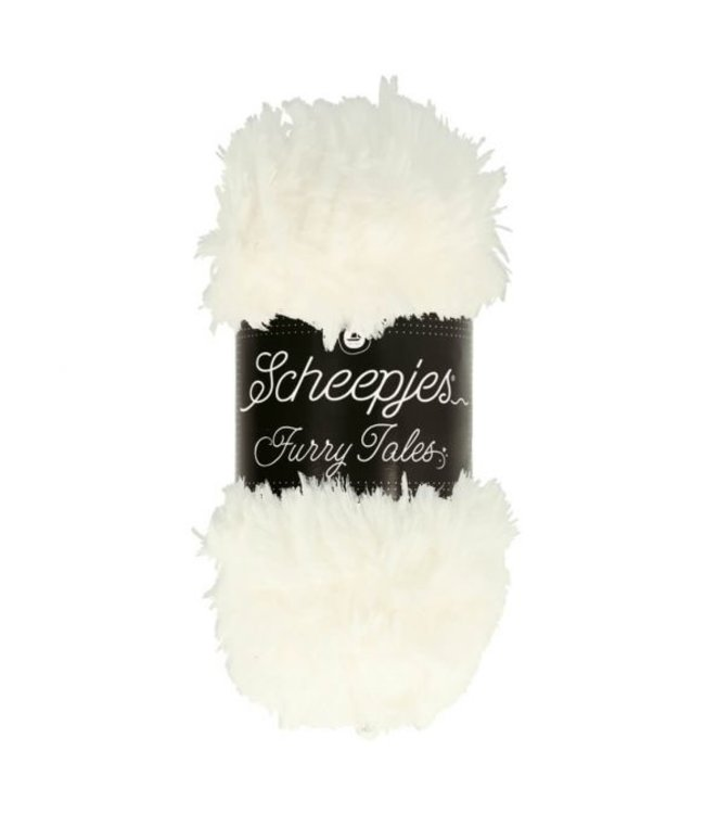 Scheepjes Furry Tales 100g  - 970  Snow White