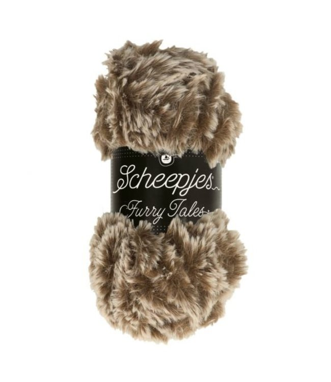Scheepjes Furry Tales 100g  - 973 Baby Bear