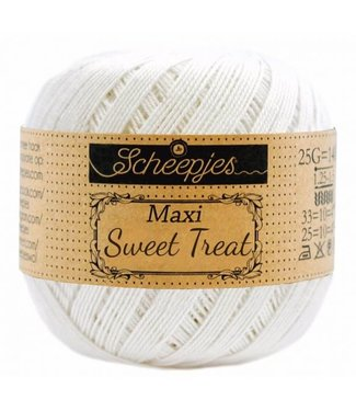 Scheepjes Maxi Sweet Treat 25g - 105 Bridal White