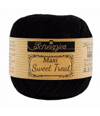 Scheepjes Maxi Sweet Treat 25g - 110 Jet Black