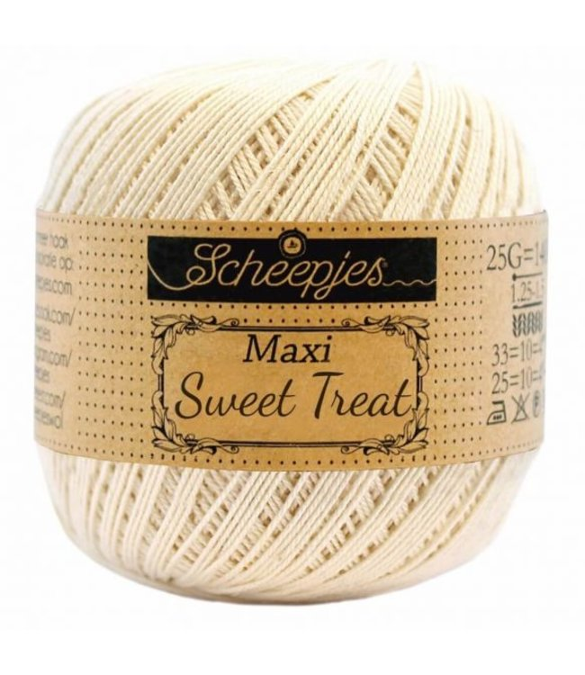 Scheepjes Maxi Sweet Treat 25g - 130 Old Lace