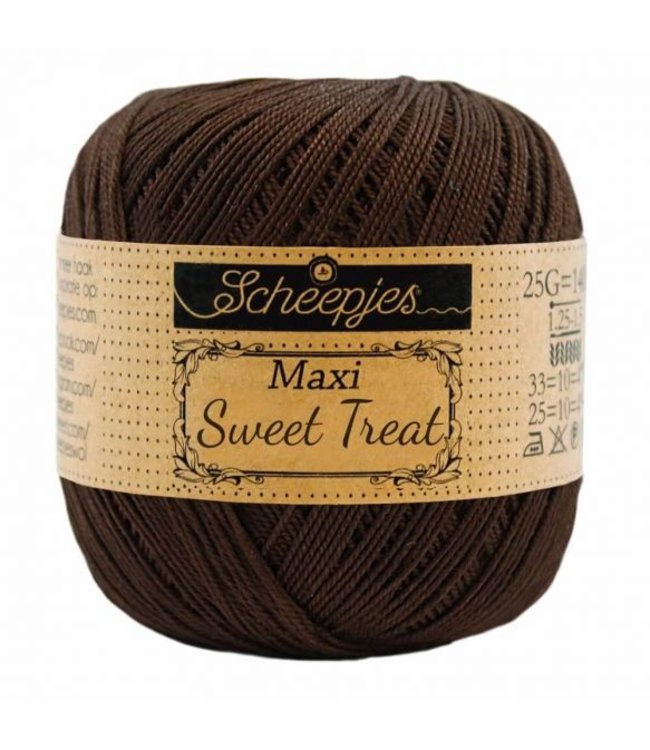 Scheepjes Maxi Sweet Treat 25g - 162 Black Coffee