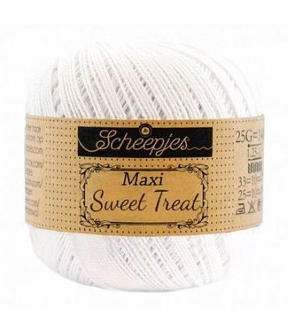 Scheepjes Maxi Sweet Treat 25g - 106 Snow White