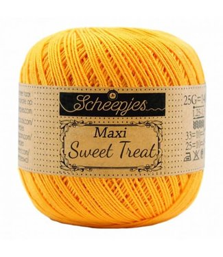 Scheepjes Maxi Sweet Treat 25g -  208 Yellow Gold
