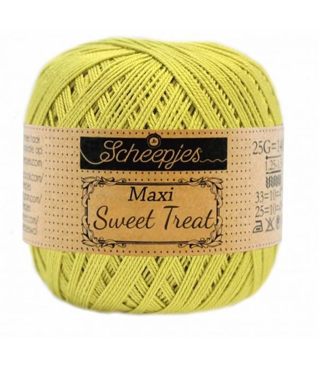 Scheepjes Maxi Sweet Treat 25g -  245 Green Yellow