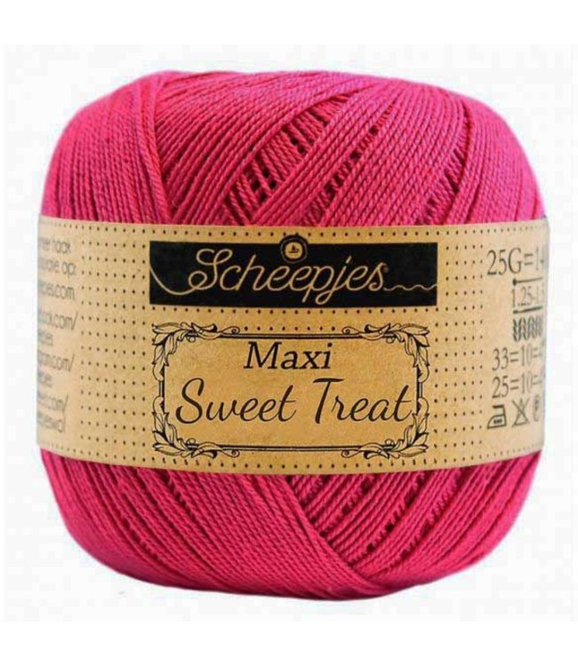 Scheepjes Maxi Sweet Treat 25g -  786 Fuchsia