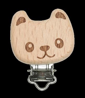 Go Handmade Schnullerclip aus Holz