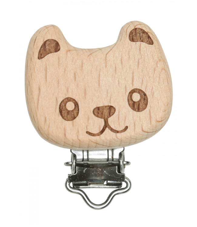 Go Handmade Wooden suspender clip