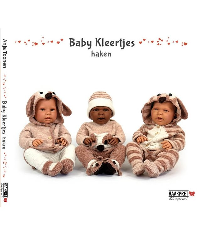 Haakpret Baby Kleertjes haken - Anja Toonen (Niederländisch)
