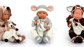 Baby Knuffels haken en Baby Kleertjes haken