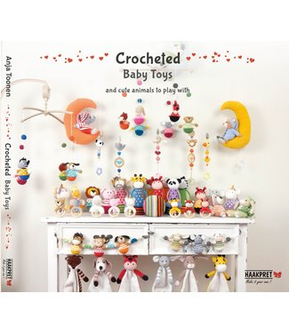 Haakpret Crocheted Baby Toys - Anja Toonen  (English)
