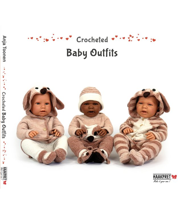 Haakpret Crocheted Baby Outfits - Anja Toonen (English)