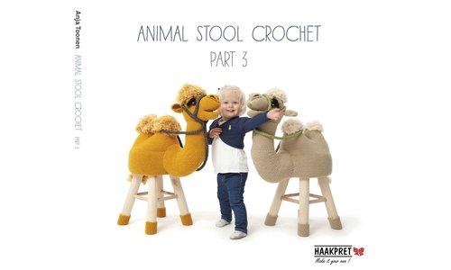 Animal Stool crochet part 3