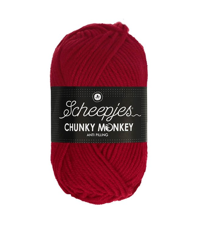 Scheepjes Chunky Monkey 100g - 1246 - Cardinal