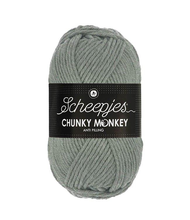 Scheepjes Chunky Monkey 100g - 1099 - Mid Grey