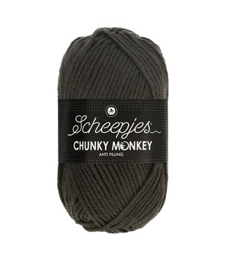 Scheepjes Chunky Monkey 100g - 2018 - Dark Grey