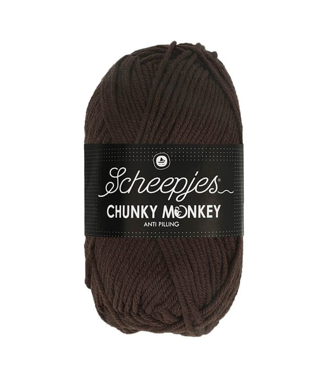 Scheepjes Chunky Monkey 100g - 1004 - Chocolate
